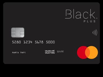 Cartões de crédito com maior cashback: black plus